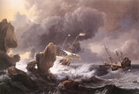 Search for a Dutch VOC-wreck, lost in 1626